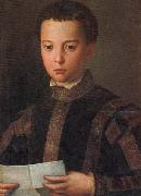 Portrait of Francesco I as a Young Man Agnolo Bronzino