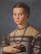 Portrait of a Little Gril with a Book Agnolo Bronzino
