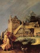 Landscape with Tobias and the Angel BLOEMAERT, Abraham