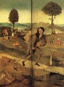 The Hay Wain(exeterior wings,closed) BOSCH, Hieronymus
