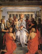 Madonna and Child with Eight Saints BRAMANTINO
