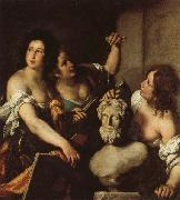 Allegory of the Arts Bernardo Strozzi