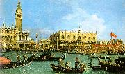 The Basin of San Marco on Ascension Day Canaletto
