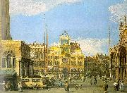 Piazza San Marco- Looking North Canaletto