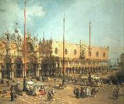 Piazza San Marco- Looking Southeast Canaletto
