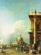 Entrance to the Grand Canal from the Piazzetta Canaletto