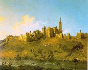 Alnwick Castle at Northumberland Canaletto