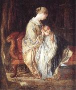 The Young Mother Charles west cope RA