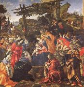 The Adoration of the Magi Filippino Lippi