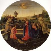 Adoration of the Christ Child Filippino Lippi