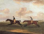 The Race For The King's Plate at Newmarket,6th May 1797,Won By 'Tottenridge' Francis Sartorius