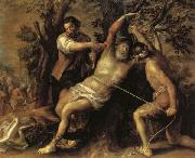 The Martyrdom of St.Bartholomew Francisco Camilo