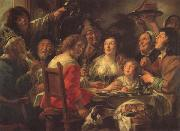 The King Drinks Celebration of the Feast of the Epiphany Jacob Jordaens