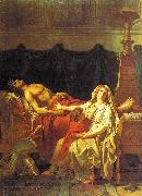 Andromache Mourning Hector Jacques-Louis David