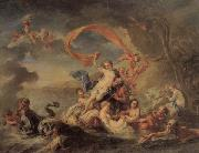 The Triumph of Galatea Jean Baptiste van Loo