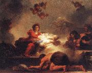 Adoration of the Shepherds Jean-Honore Fragonard