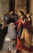 The Virgin,with St.Mary Magdalen and St.Catherine,Appears to a Dominican Monk in Seriano MAINO, Fray Juan Bautista