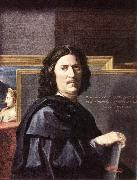 Self-Portrait POUSSIN, Nicolas