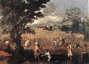 Summer (Ruth and Boaz) POUSSIN, Nicolas