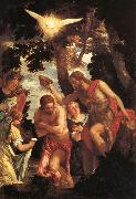 The Baptism of Christ Paolo Veronese