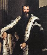 Portrait of a Gentleman in a Fur Paolo Veronese