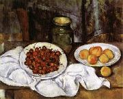 Cherries and Peaches Paul Cezanne