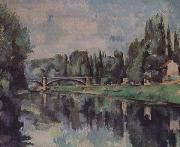 Bridge over the Marne Paul Cezanne