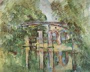 Aqueduct and Lock Paul Cezanne