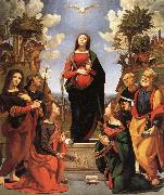 The Immaculate Conception and Six.Saints Piero di Cosimo