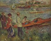 Boating Party at Chatou renoir