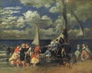 Return of a Boating Party renoir