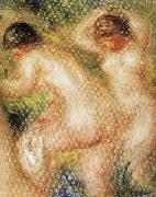 Seated Nude (detail) renoir