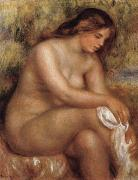 Bather Drying her Leg renoir