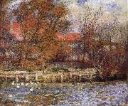 The Duck Pond renoir