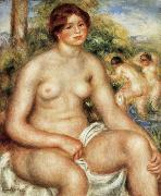Seated Nude renoir