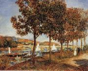 The Bridge at Argenteuil in Autunn renoir