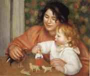 Child with Toys(Gabrielle and Jean) Pierre Renoir