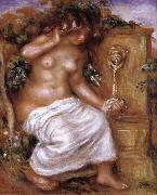 The Bather at the Fountain renoir