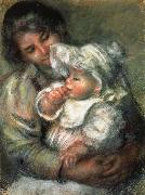 The Child with its Nurse renoir