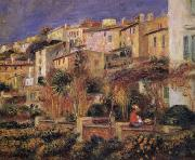 Terraces at Cagnes renoir