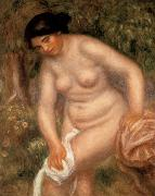 Bather Drying herself renoir