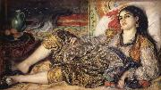 Odalisque or Woman of Algiers renoir