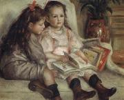 Portrait of Children(The  Children of Martial Caillebotte) renoir