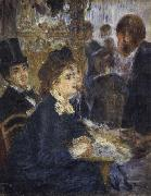 At the Cafe renoir