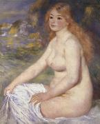 Blonde Bather renoir