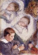 Studies of the Berard Children renoir