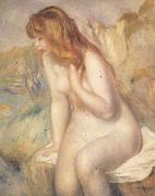 Bather on A Rock renoir