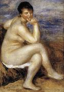 Bather with a Rock renoir