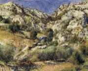 Rocky Crags at L'Estaque renoir