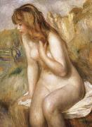 Bather Seated on a Rock renoir